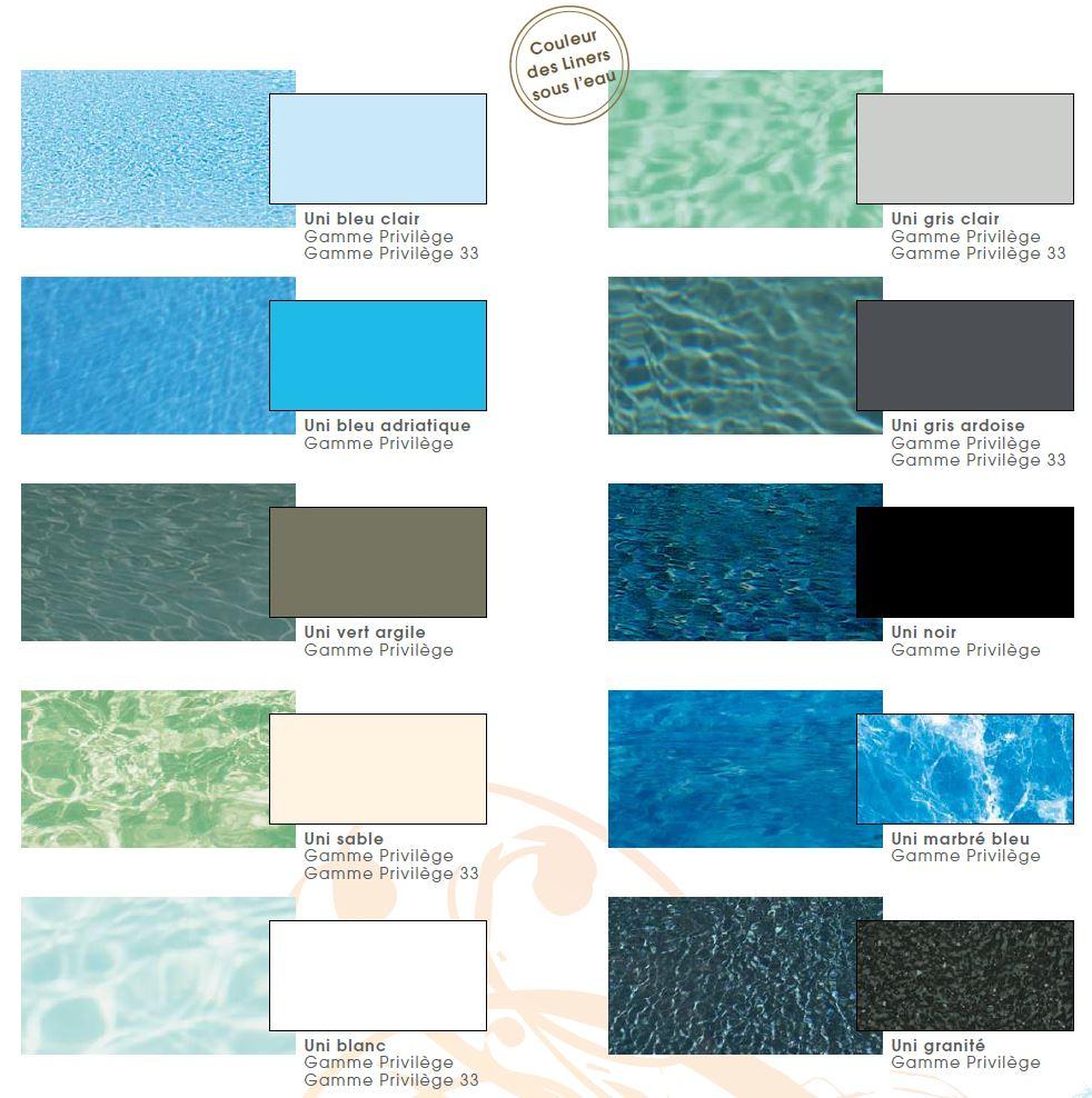 Quelle couleur de liner pour votre piscine natilia avignon for Quelle piscine choisir